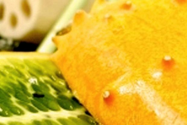 Экзотический рогатый огурец – фрукт кивано