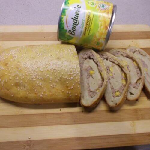 Картофельный рулет с вкуснейшей начинкой