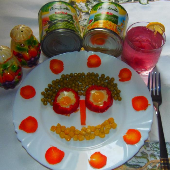 Смайлик - полезный детский завтрак