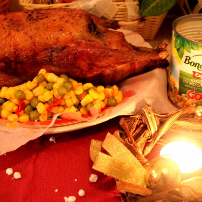 Утка, фаршированная овощами по-мексикански Bonduelle