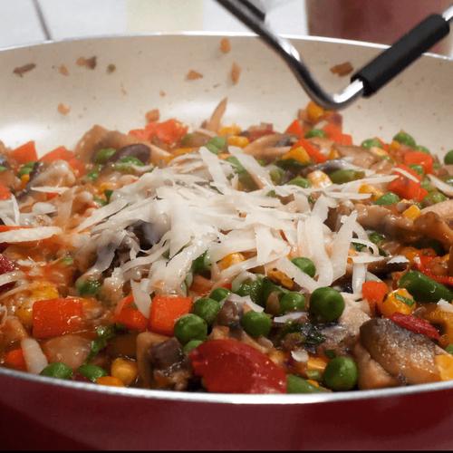 Мексиканская смесь с грибами