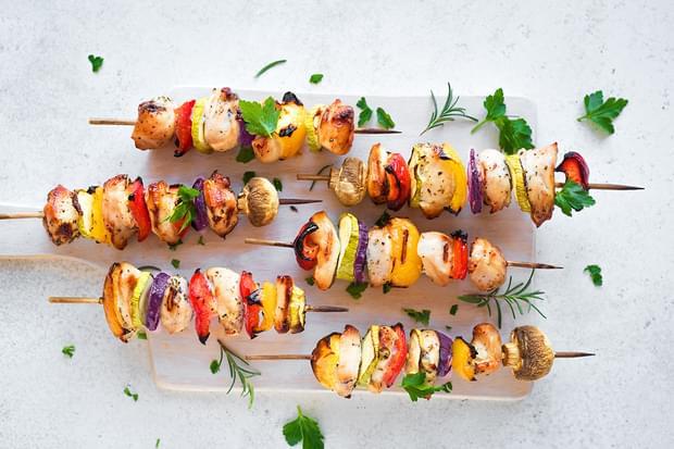 Оформлення страв зі свіжих овочів