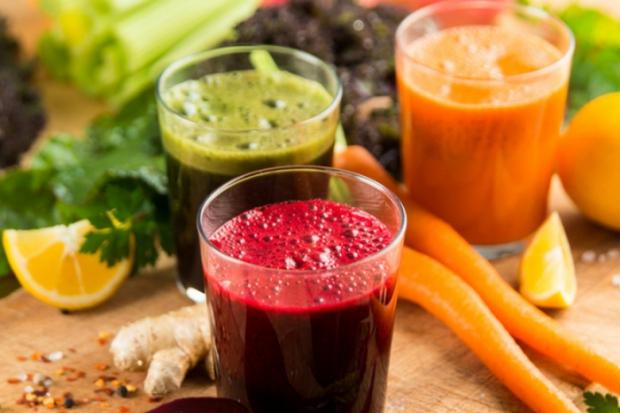 Рецепти овочевих напоїв