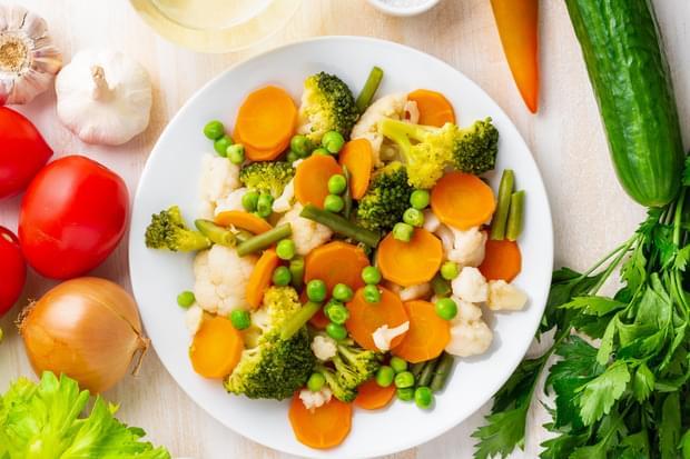 Чим корисні овочі на парі