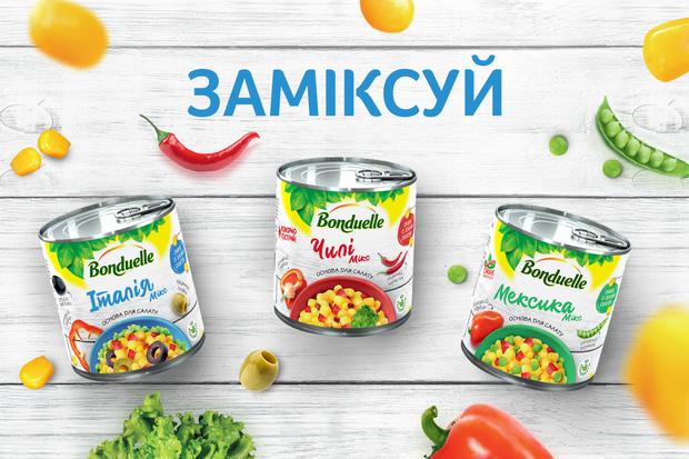 Заміксуйте нові смаки разом з овочевими сумішами для салатів!