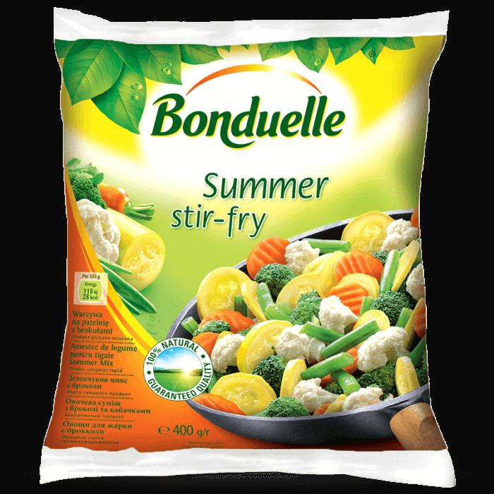 Овочева суміш з броколі та кабачками