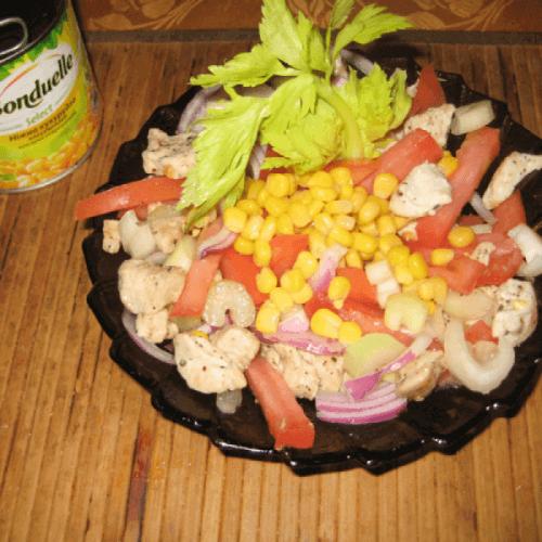 Хрусткий салат