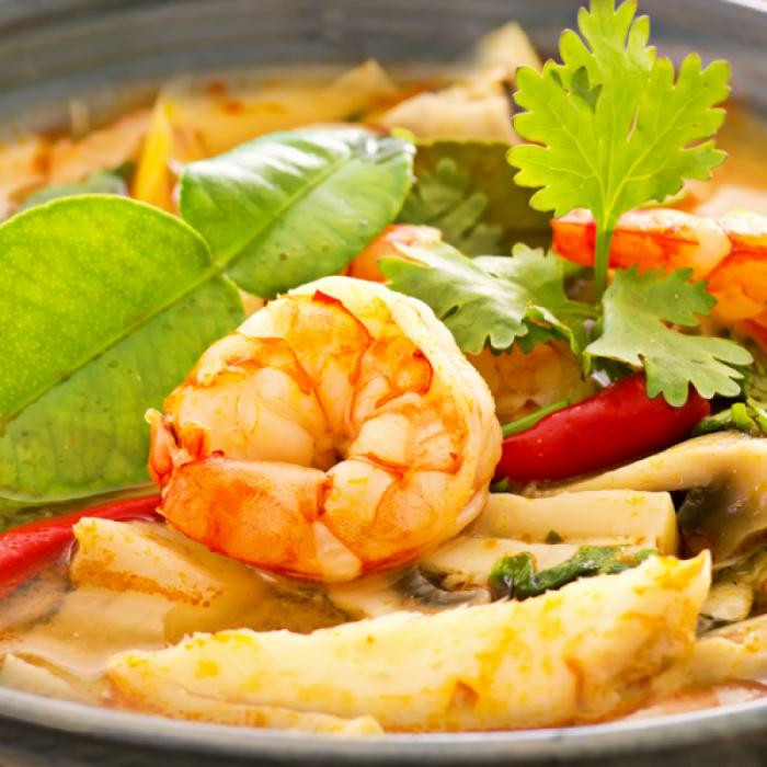 Том Ям Кунг – гостро-кислий тайський суп із креветками