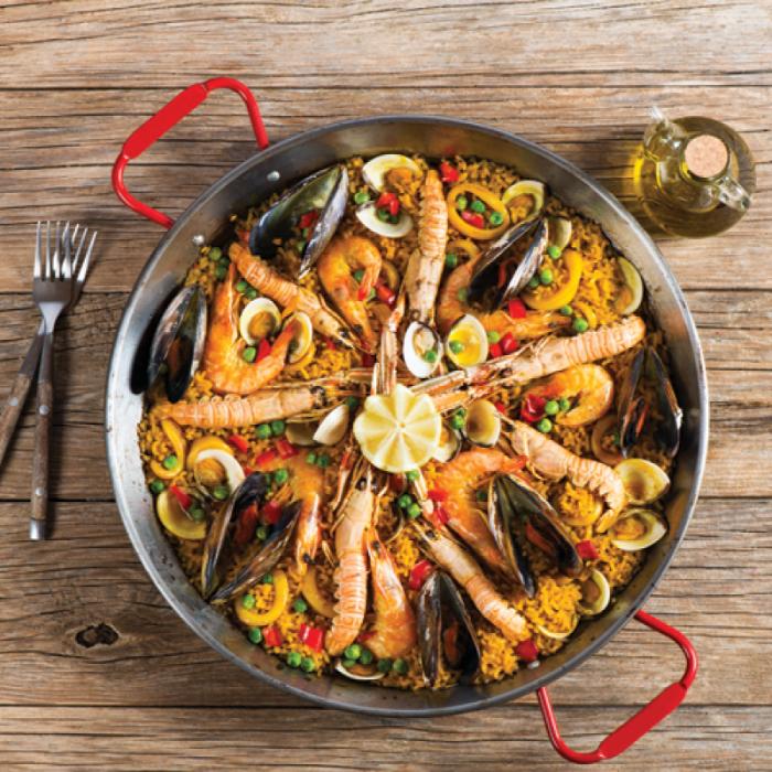 Іспанська страва з Валенсії – паелья