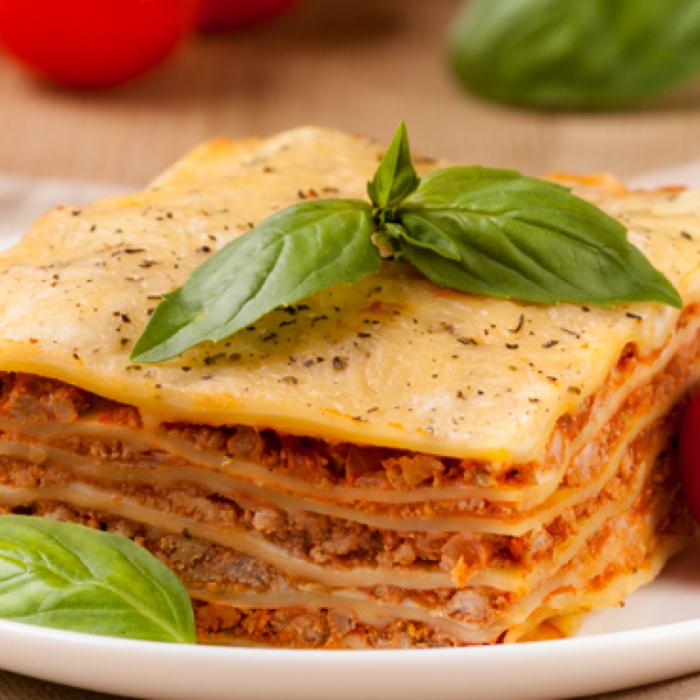 Лазанья – італійська м'ясна запіканка з макаронами