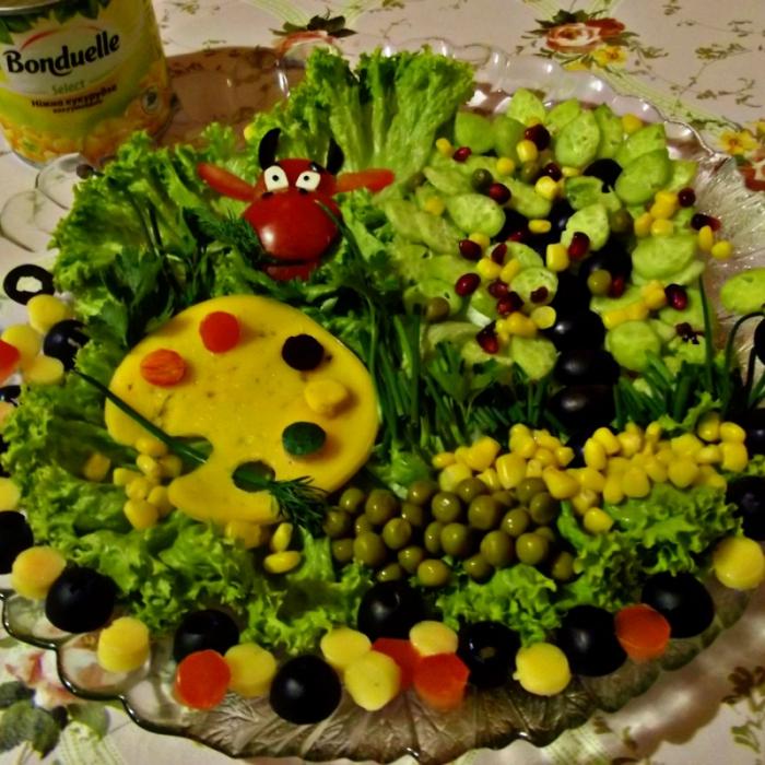 "Салат ""Весняний"""