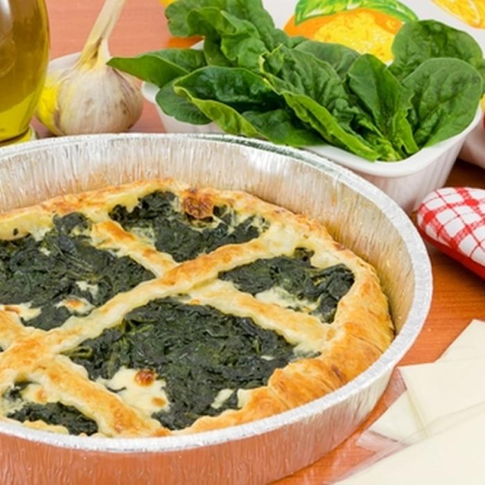Зеляніца – пиріг зі шпинатом