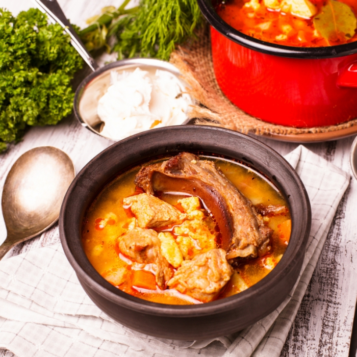 Бограч - угорський суп-гуляш